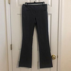 The Limited Exact Stretch work pants.